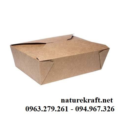 Hộp giấy đựng thức ăn nhanh