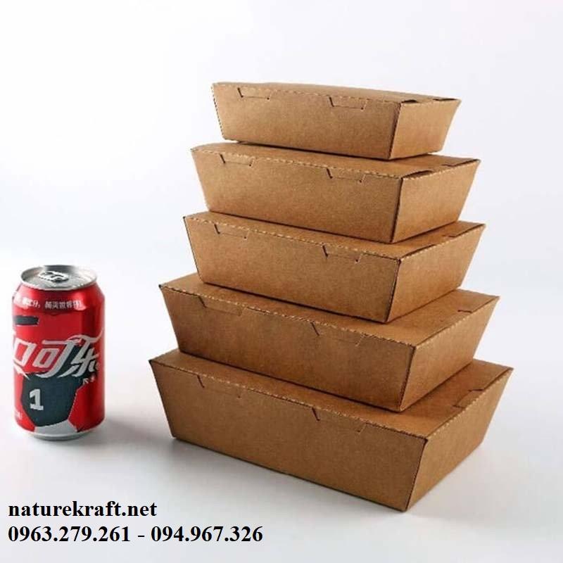 hộp giấy đồ ăn nhanh