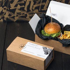 hộp kraft đựng đồ ăn